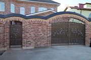 Кованые ворота, калитки на заказ в Краснодаре. Краснодар