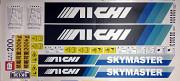 Комплект наклеек для автовышки Aichi SK130 Новосибирск