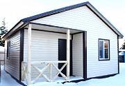 Дачный каркасный дом 6 м х 6 м с утеплением 100 мм. Тюмень