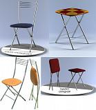 Складные стулья, табуреты и столы. Санкт-Петербург