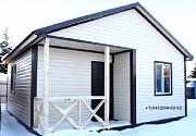 Дачный каркасный дом 36 м2 c 3 окнами. Тюмень