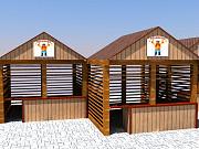 Изготавливаем деревянные ярмарочные домики Ростов-на-Дону