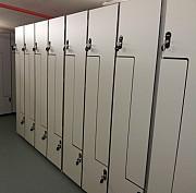 Шкафчики из пластика HPL для медперсонала и детских садов, школ. Фитнес -мебель, спортивная мебель Москва