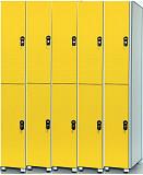 Шкафы шкафчики из пластика HPL для отелей, персонала, спортивных раздевалок, бассейнов, гольф-клубов Москва