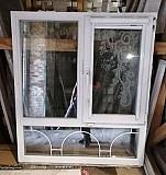 Окно пвх с декором Киржач