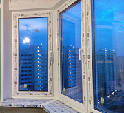 Остекление балконов- окна Рехау Москва