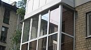Остекление балконов и лоджий из пвх и Аl Омск