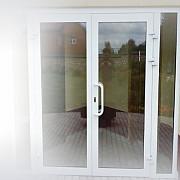 Входная штульповая дверь 1300*2100, стекло Омск