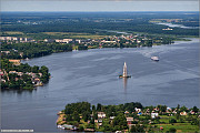 Операции с недвижимостью на Волге в гор. Калязине Тверской области Калязин