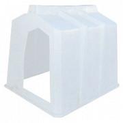 Малый пластиковый домик для теленка 1500x1290x1300 Тула