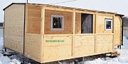 Утеплённые дачные домики из вагонки. Тюмень