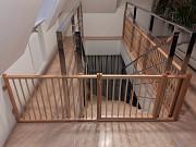 Деревянное ограждение, барьер, заборчик для лестниц, проходов, проёмов Москва