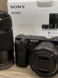 Sony Alpha а6000 цифровая фотокамера с 16-мм и 55-210мм линзами Москва