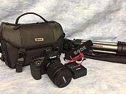 Canon EOS 80D фотокамера с 18-135мм комплектом видеогенератора объектива Москва