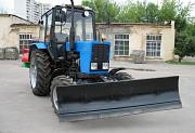 Трактор МК-02 на МТЗ-82 (отвал+ щётка) Челябинск