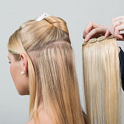 Накладные волосы на заколках (трессы). Доставка по всей России и СНГ Москва