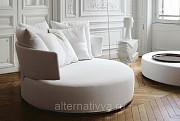 Оригинальный диван круглой формы на заказ недорого Самара