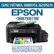 Сброс счетчика, памперса, абсорбера принтера, МФУ Epson Винница