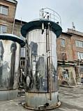 Акратофоры нержавеющие, объем -25 куб.м., вертикальные, с рубашкой Москва