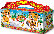 Новогодние подарки, новогодняя упаковка, маскарадные костюмы Тюмень