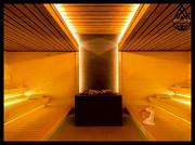 Декоративное освещение в баню Алматы