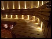 Оптоволоконное освещение в баню Алматы