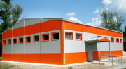 Каркасная пристройка для: склада, промышленного помещения, навеса. Омск