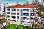 Жилой комплекс перед воротами государственной столицы Баварии Munich