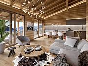 Проект современного дома с террасой с удивительного панорамного вида Trento