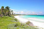 Уникальный участок на берегу моря в эксклюзивном районе Мексика Cancun