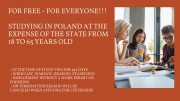 FREE EDUCATION AND LEGAL EMPLOYMENT IN POLAND New Delhi